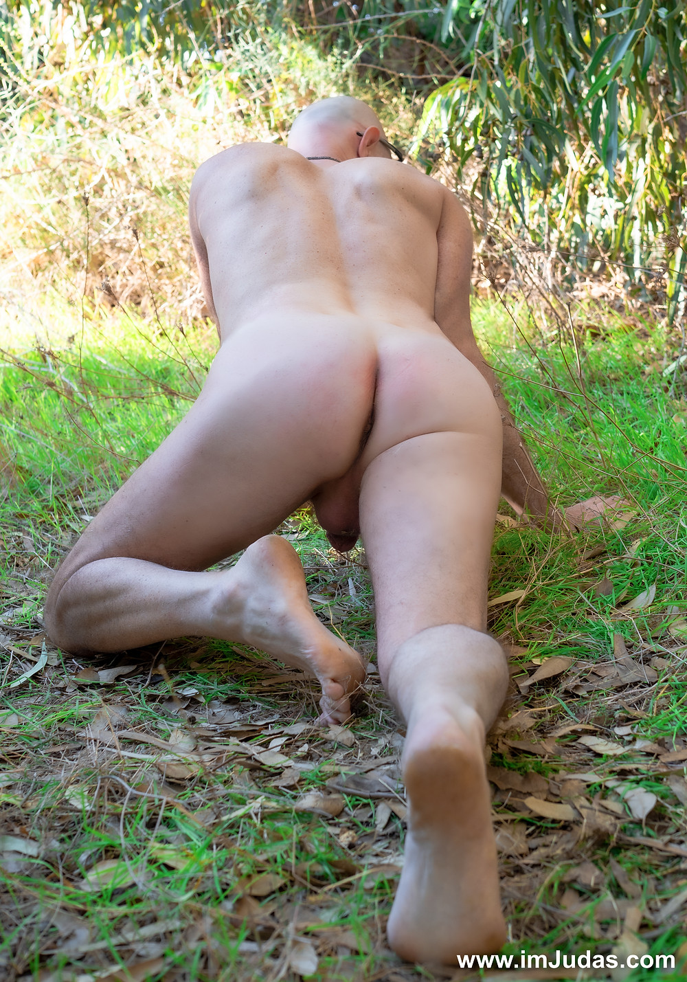 Naked outdoors