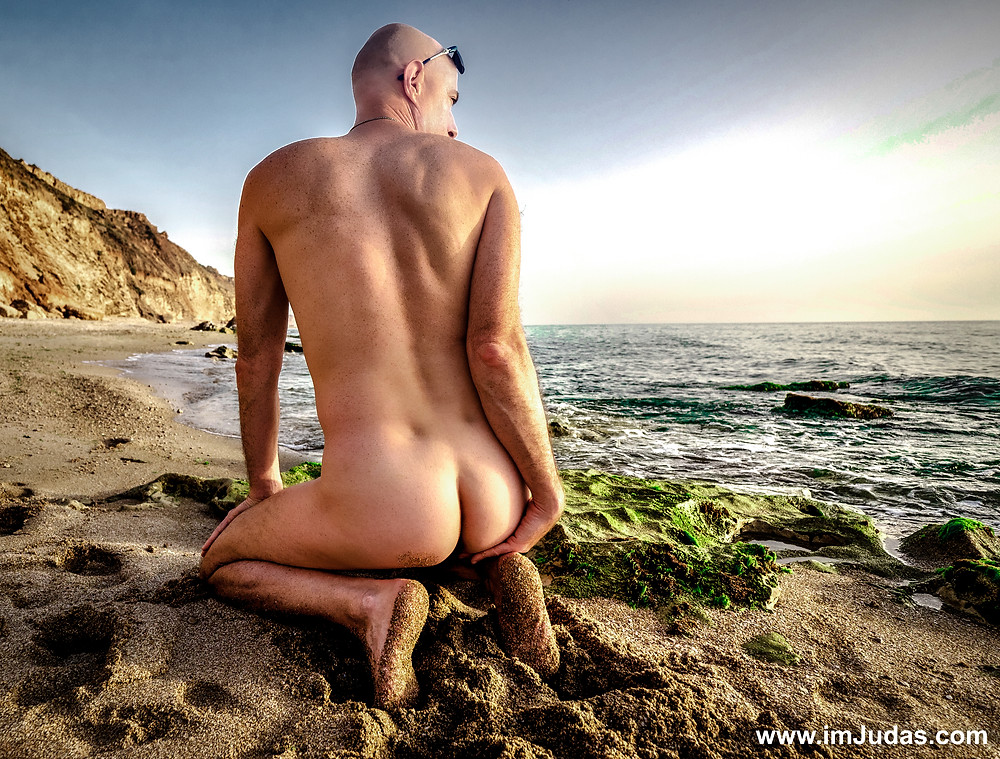 Early spring at the nudist beach