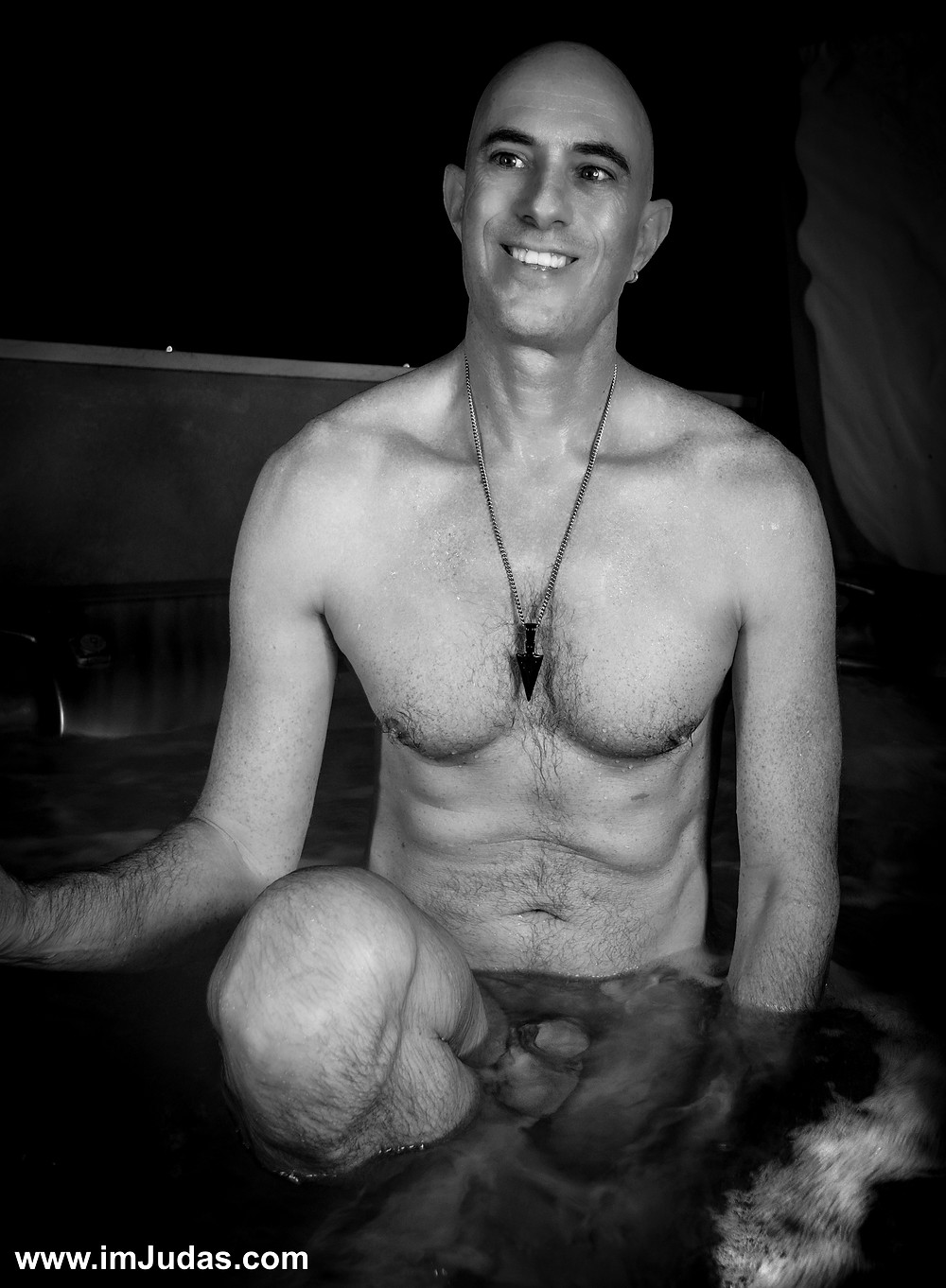 I was so happy to be naked and wet with him again.