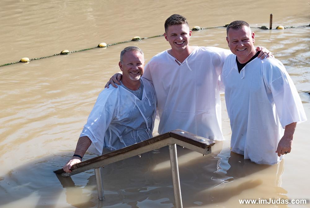 """Jordan River"" Christians Jesus Baptizing"