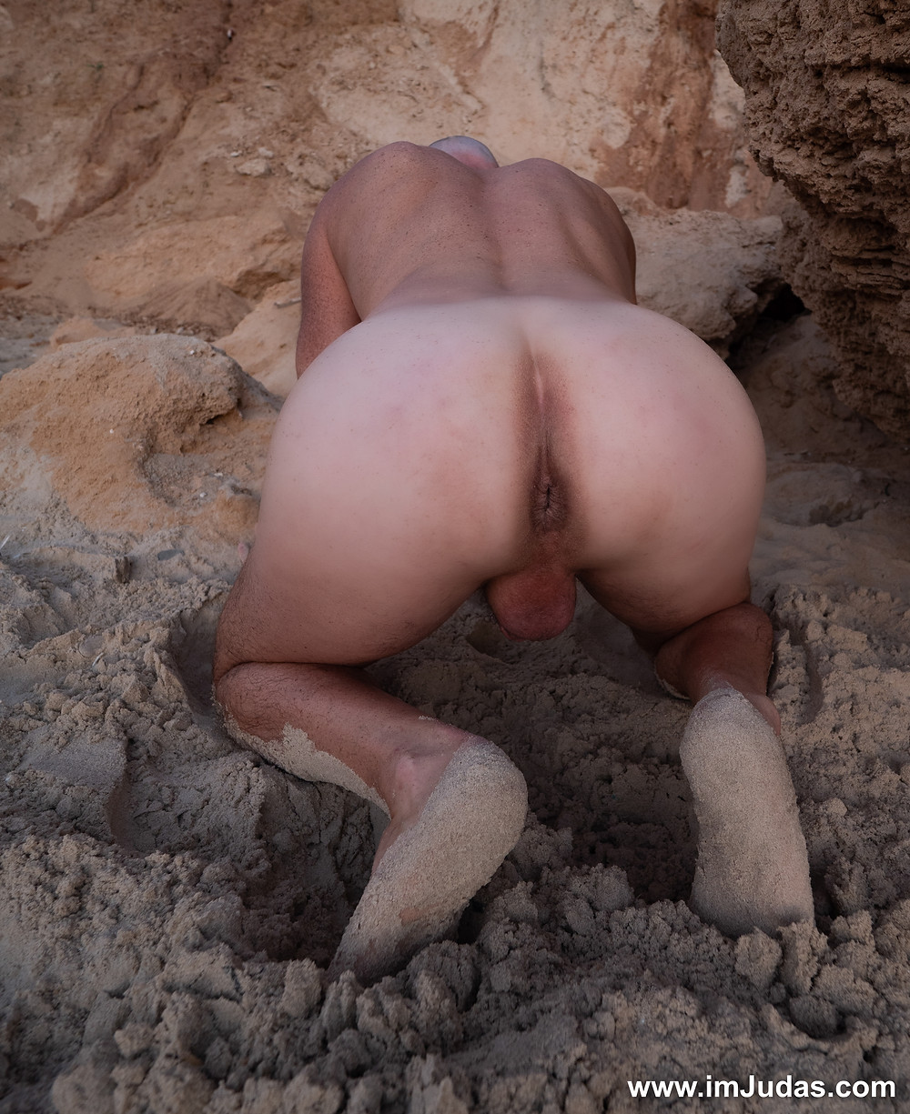 anus hole ass naked beach male man model