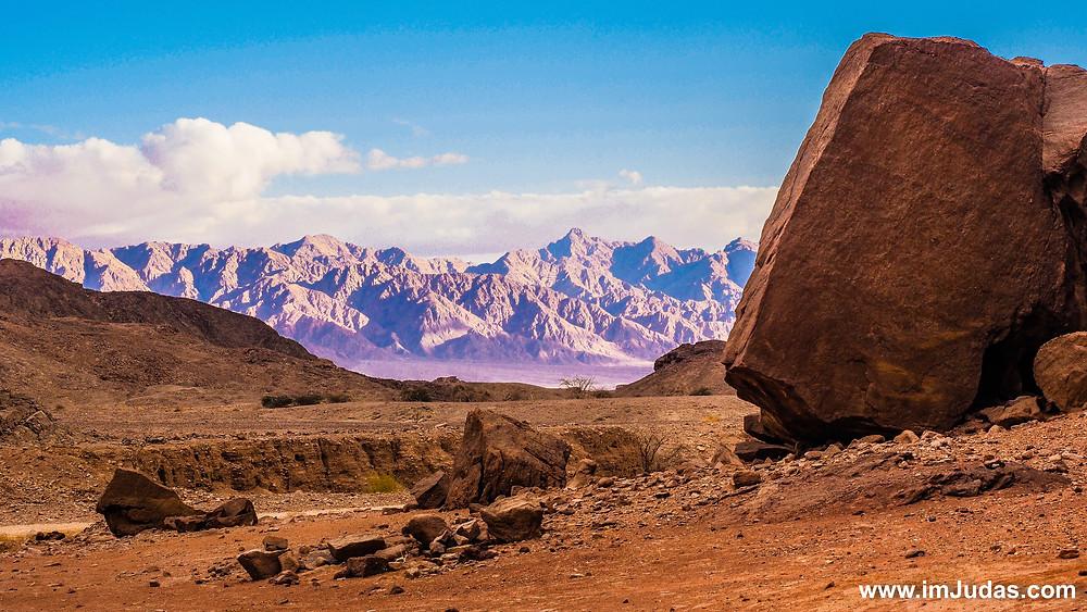 The desert of Israel