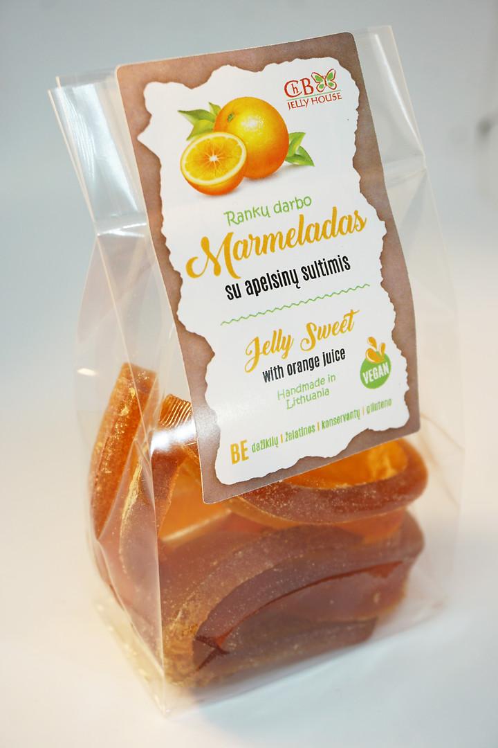 Marmeladas su apelsinų sultimis