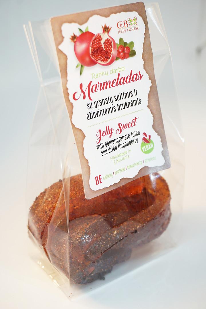 Marmeladas su granatų sultimis