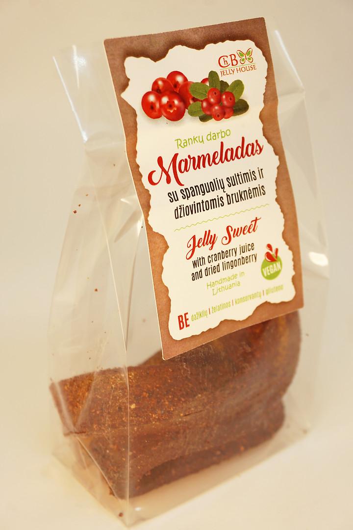 Marmeladas su spanguolių sultimis