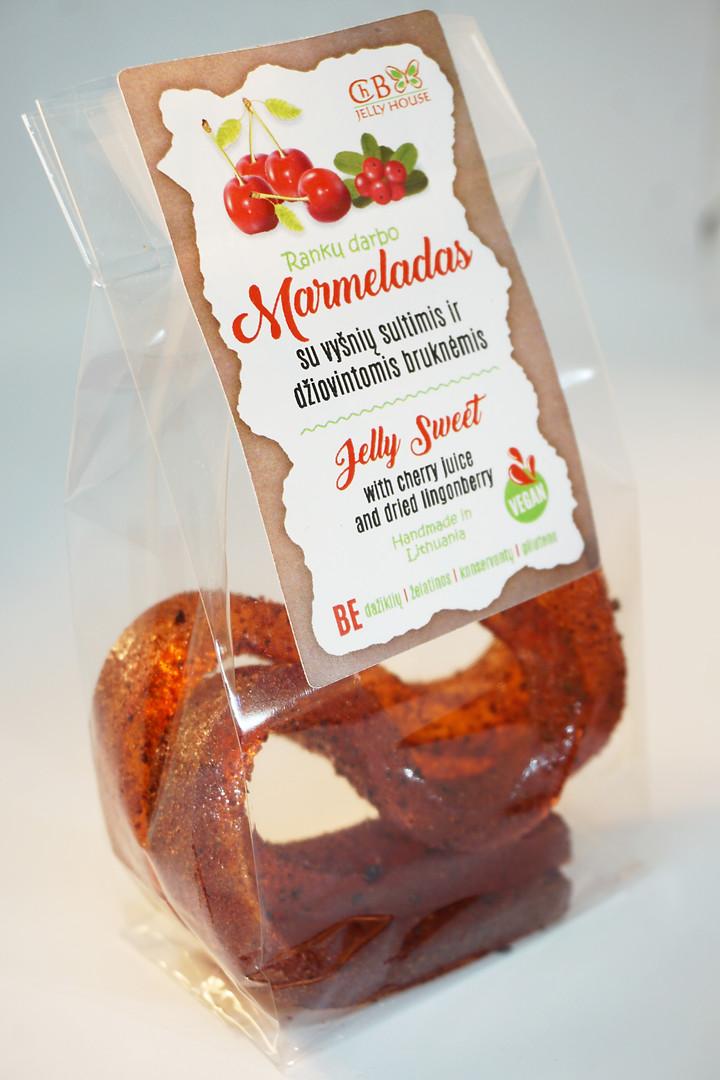 Marmeladas su vyšnių sultimis