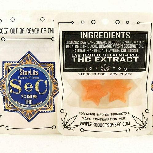 Sec Peaches n Cream starlit edibles