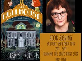 Book Signing in Tors Cove this Saturday