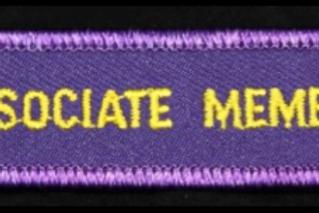 Associate Member Patch