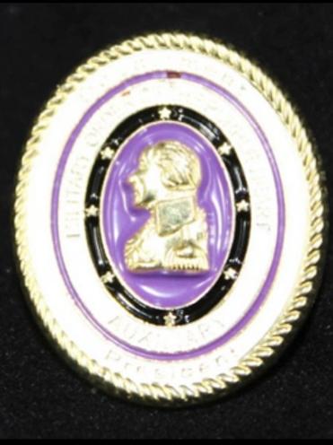 UNIT PRESIDENT PIN