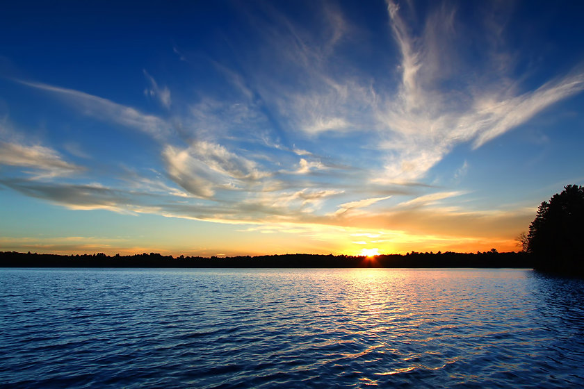 bigstock-Northern-Wisconsin-Lake-Sunset-