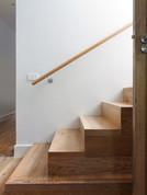 Parquet + habillage escalier béton