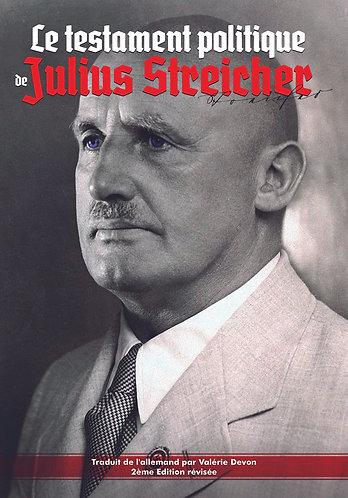 Le testament politique de Julius Streicher