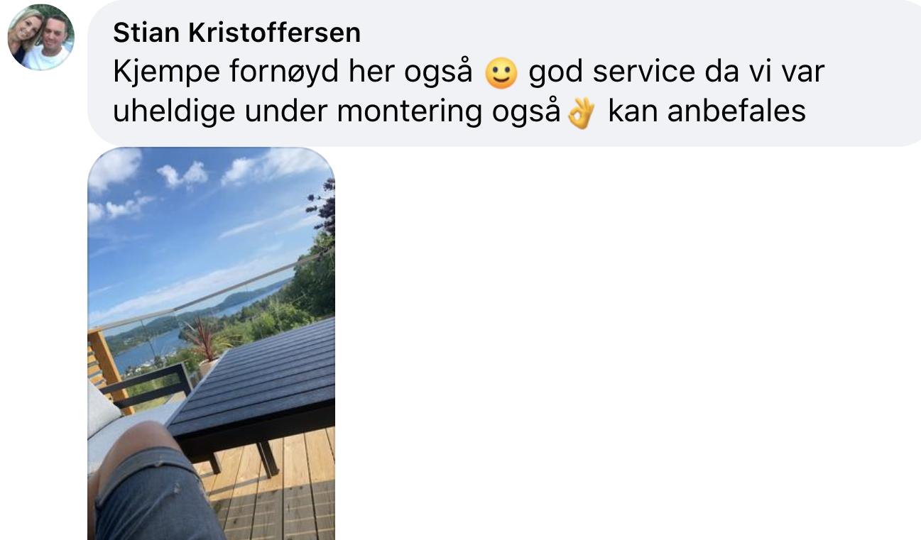 Fornøyd kunde, Drøbak