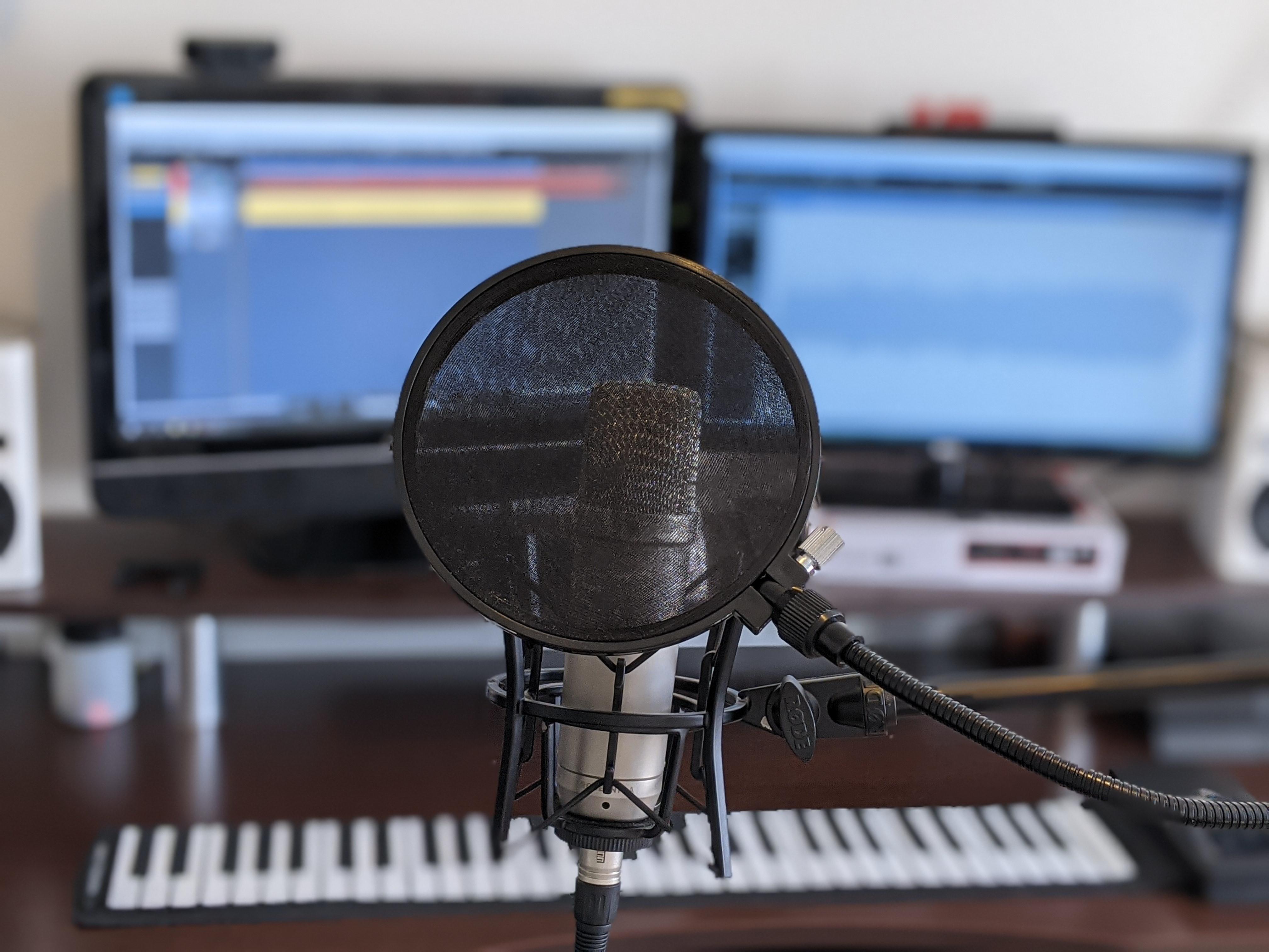 Cours de chant dans mon studio 1h