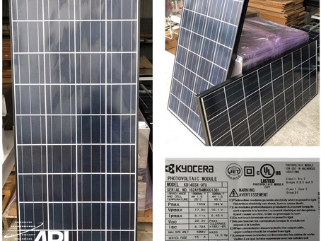 New & Slightly Used Solar Panels for Sale!