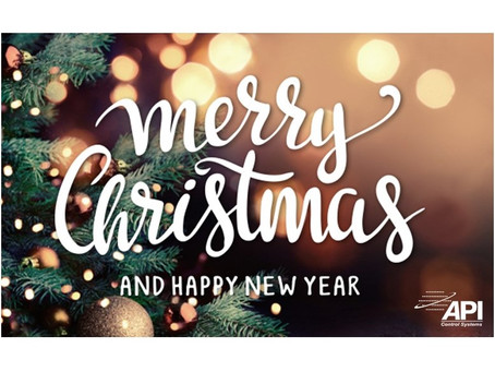 Merry Christmas & Happy New Year from the API team!
