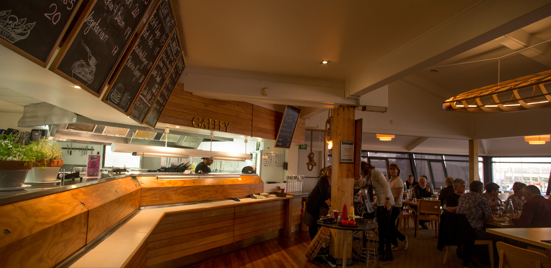 Boatshed Kitchen