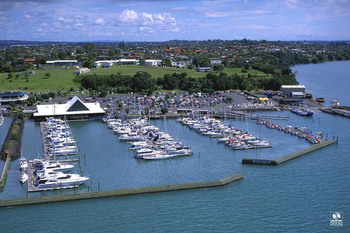 BBYC Marina Aerial