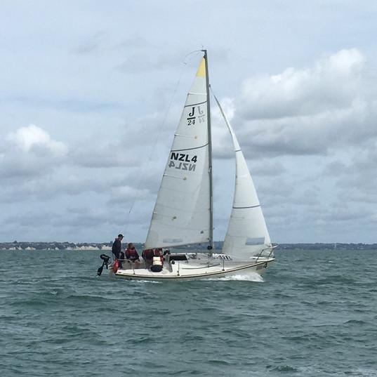 J24 sail experience