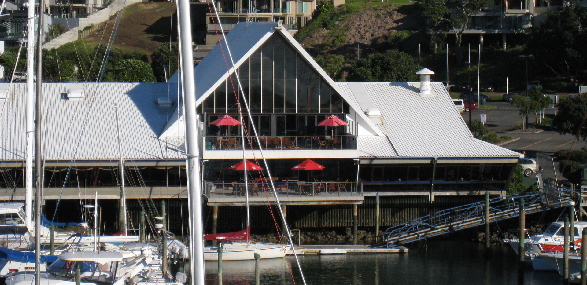Marina and Clubhouse