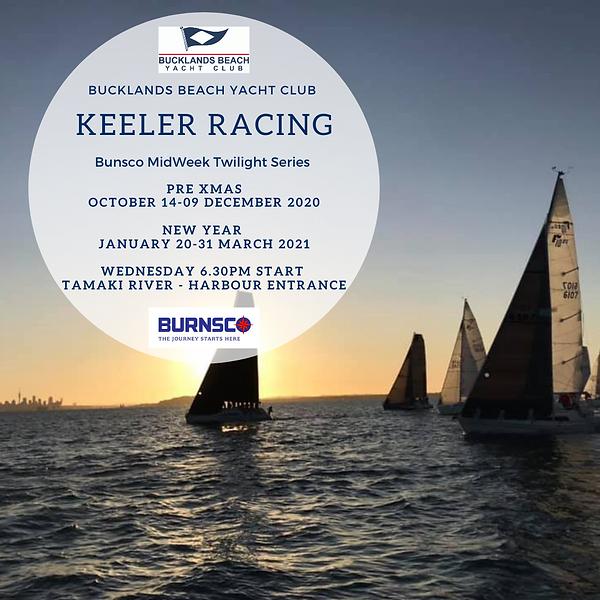 Bunsco Midweek Twilight Keeler Racing 20