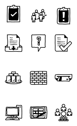 Visio shapes theme3