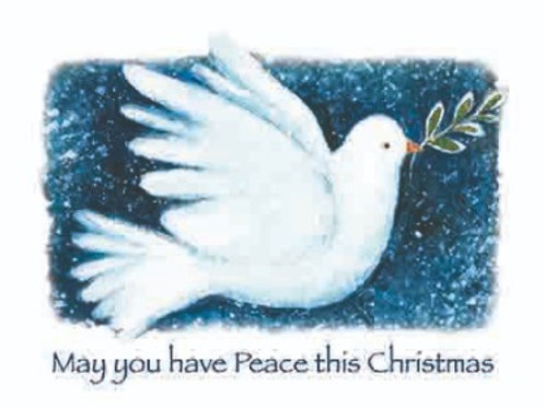 May you have Peace this Christmas (pack of 10 cards)