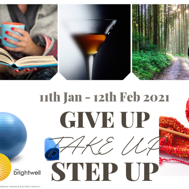 Give Up, Take Up, Step Up