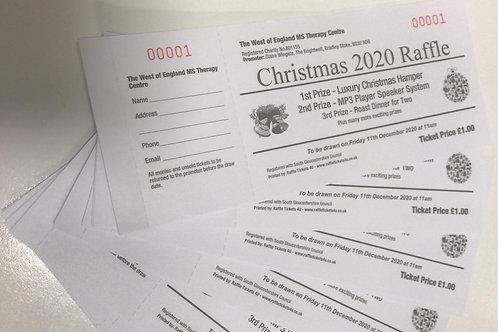 Christmas 2020 Raffle Tickets