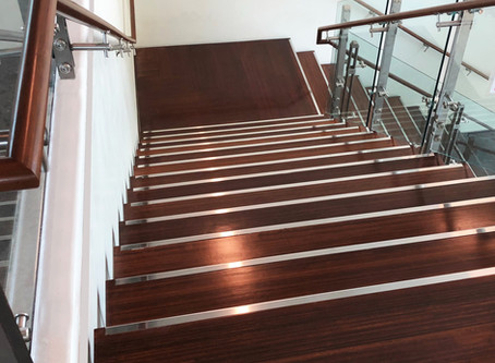 Lamboo® Surface™ Series Stair Treads & Handrails