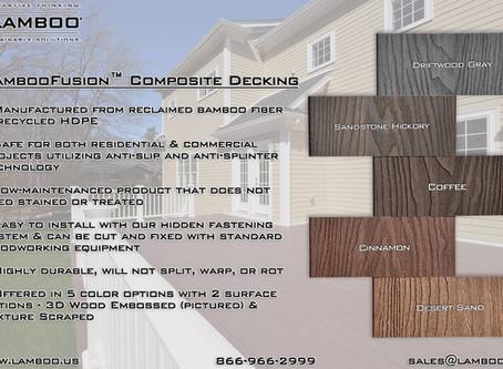 Lamboo Fusion™ Composite Decking