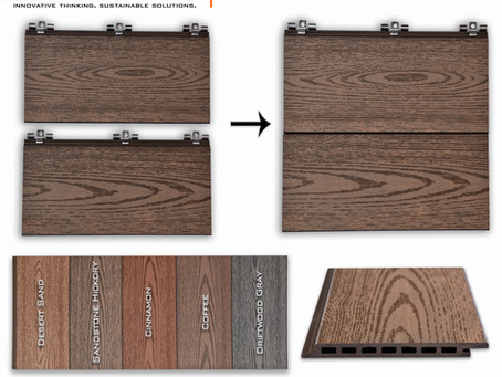 LambooFusion™ Bamboo Plastic Composite Cladding