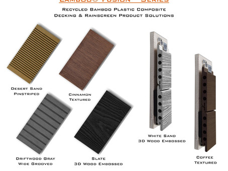 Lamboo® Fusion™ Series™ - Bamboo Plastic Composite Products