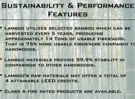 Lamboo® Sustainability & Performance