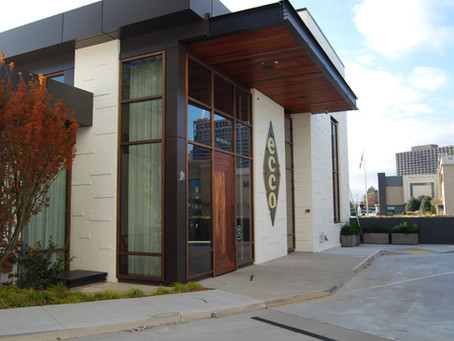 Lamboo® Glazing™ & Vue™ Utilized in ECCO Restaurant