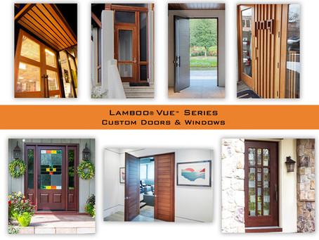 Lamboo® Vue™ Custom Doors