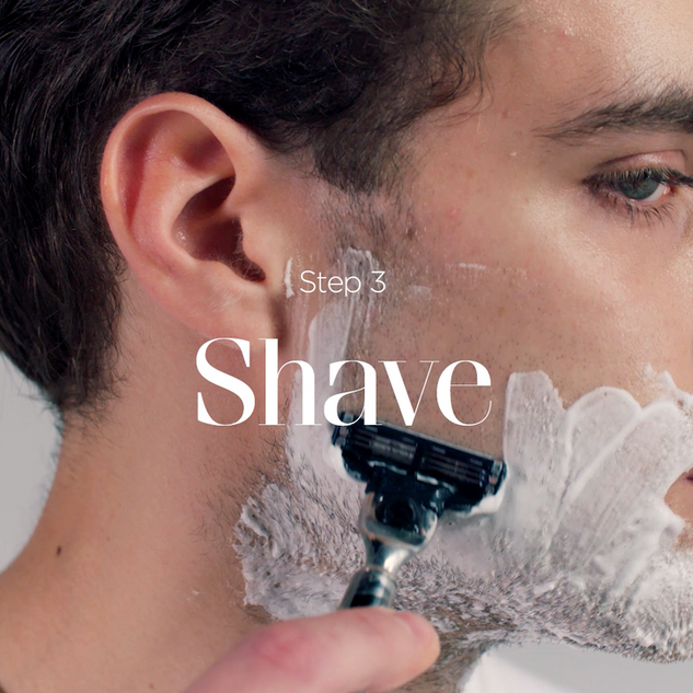 GQ - The Perfect Shave