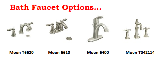 Bath Faucet Options