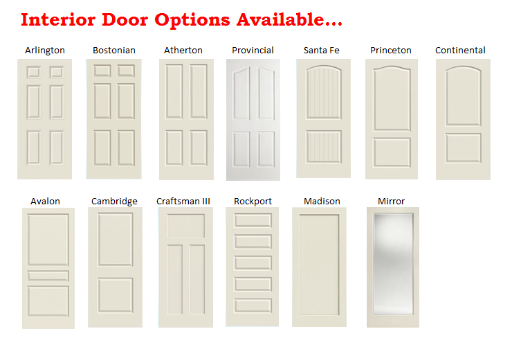 Interior Door Options