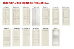 Interior Door Options