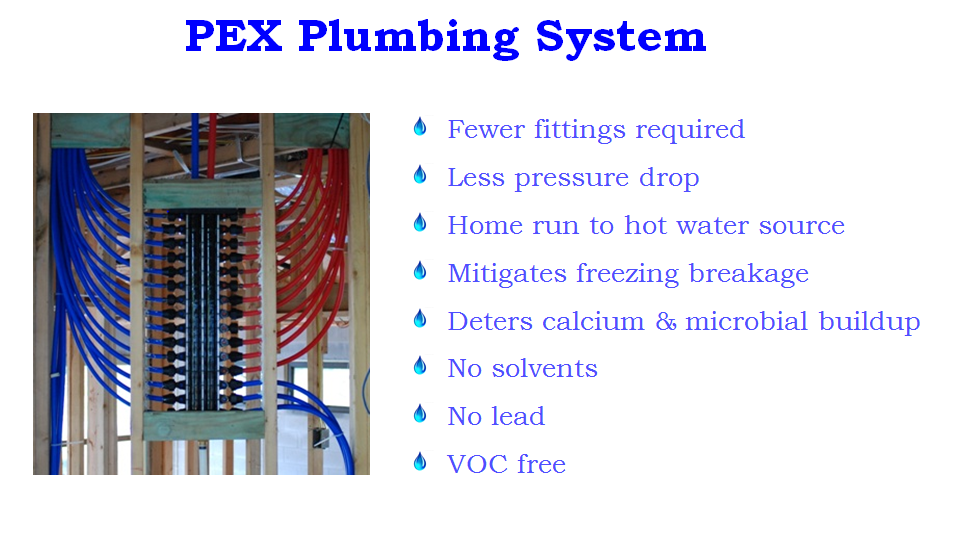 PEX Plumbing System Advantages