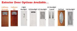 Exterior Door Options