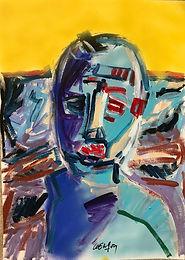 Autoportrait  50X70cm