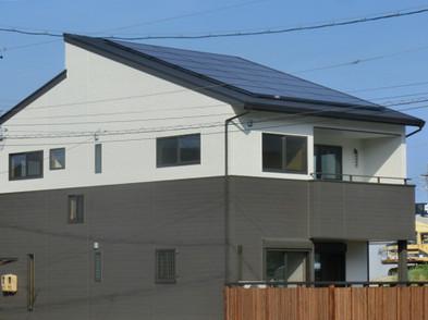 太陽光パネル4.5kw搭載