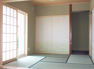 曾祖母の和室