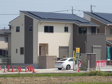 太陽光発電4kw搭載のモデルハウス