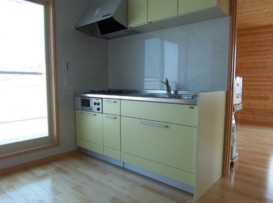 3階のキッチン