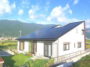 太陽光発電10KWを越える家