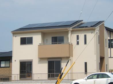 太陽光発電システムのオール電化住宅